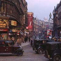 Vintage Color Photographs of London, circa 1949