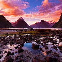 Beautiful New Zealand: Earth's Mythical Islands