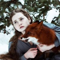 Marvelous Dreamlike Portraits of Redheads with Red Foxes