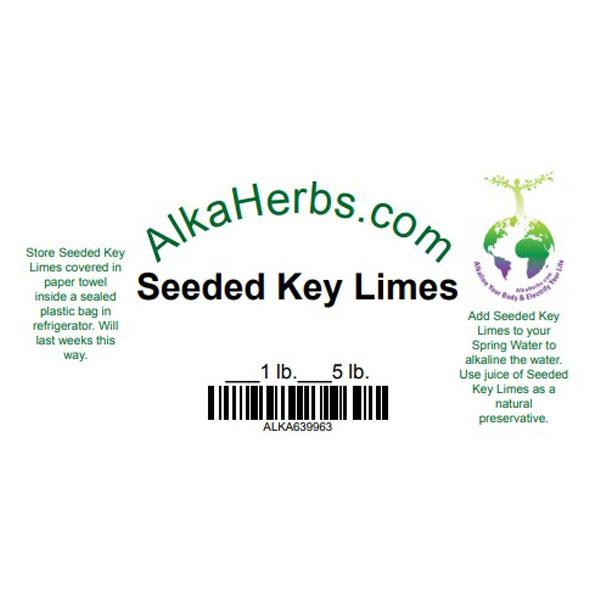 Seeded Key Limes