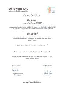 Certyfikat ALLA15