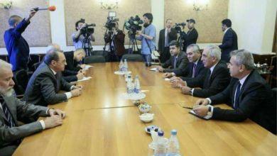 """Photo of """" المجلس الوطني الكردي المعارض """" يجتمع مع وزارة الخارجية الروسية"""
