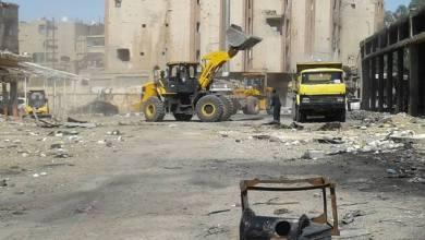 Photo of البدء بعمليات تنظيف وتأهيل سوق الهال وسوق الجزارين بدير الزور