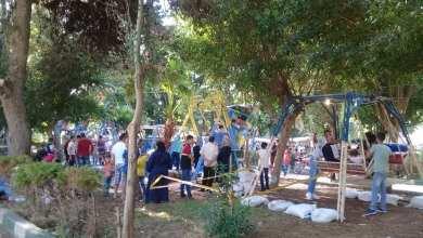 Photo of في العيد.. حديقة السلطان إبراهيم في جبلة تستحضر ذكريات الماضي الجميل