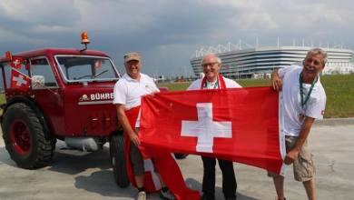 Photo of في المونديال…مشجعون يصلون من سويسرا إلى روسيا بجرار زراعي