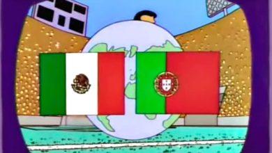 "Photo of ""عائلة سيمبسون"" تتوقع المبارة النهائية لكأس العالم بين البرتغال والمكسيك"