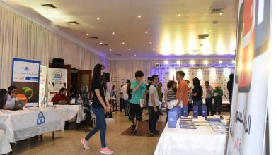 Photo of معرض الجامعات والتمويل الطلابي الأول يستمر بيومه الثاني في طرطوس