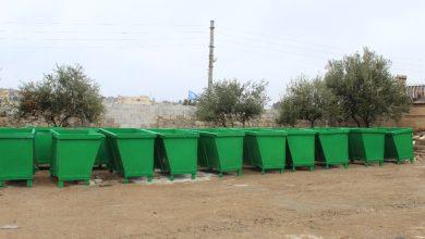 Photo of توزيع 300 حاوية قمامة جديدة على أحياء حلب