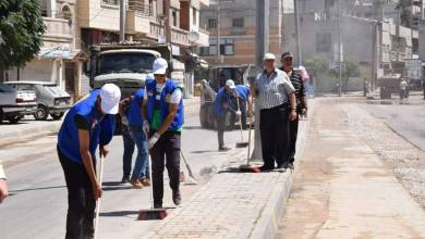Photo of حزب البعث يطلق حملة تطوعية لتنظيف شوارع مدينة حمص