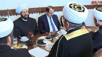 Photo of مفتي سوريا يبحث أفق التعاون مع رئيس مجلس المفتين في روسيا
