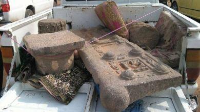Photo of إحباط محاولة تهريب 17 قطعة أثرية من درعا نحو الأردن