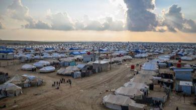 """Photo of مقتل شاب في مخيم الهول.. والمتهم: 14 امرأة """"داعشية"""""""