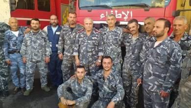 Photo of إخماد حريق خزان مازوت في منطقة المزة بدمشق