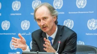 Photo of بيدرسون يبحث مع الأردن جهود الوصول لحل سياسي للأزمة السورية