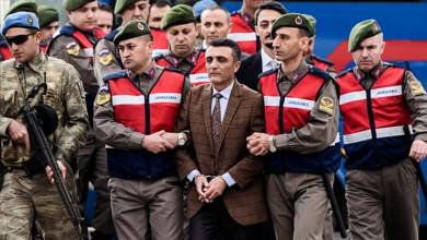 Photo of السجن مدى الحياة لضبّاط أتراك حاولوا الانقلاب على أردوغان
