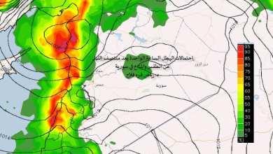 Photo of استمرار المنخفض الماطر حتى يوم الثلاثاء يتبعه جو مشمس