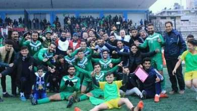 Photo of النواعير وعفرين يصعدان إلى الدوري السوري الممتاز بكرة القدم