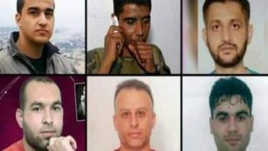 "Photo of فجر الحرية..6 أسرى فلسطينيين يكسرون تحصينات سجن ""جلبوع"" الصهيوني ويفرون منه"