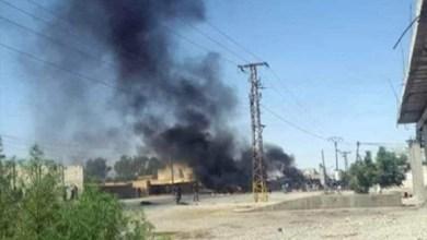 """Photo of الفصائل الشعبية بالرقة تستهدف سيارة عسكرية تابعة لـ""""قسد"""""""