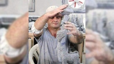 "Photo of ""صديق البازلت"".. وفاة النحات العالمي فؤاد أبو عساف"
