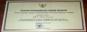 Tokoh Sejarah Pembentukan Sulawesi Tengah