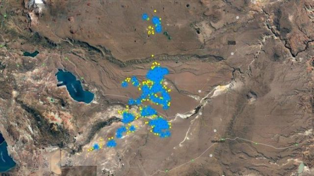 Watch ... the migration journey of 100 camelids towards