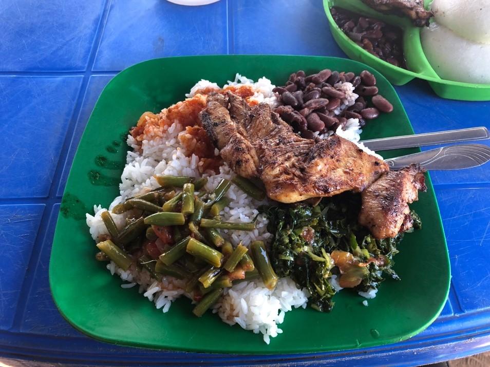 マラウイの食事
