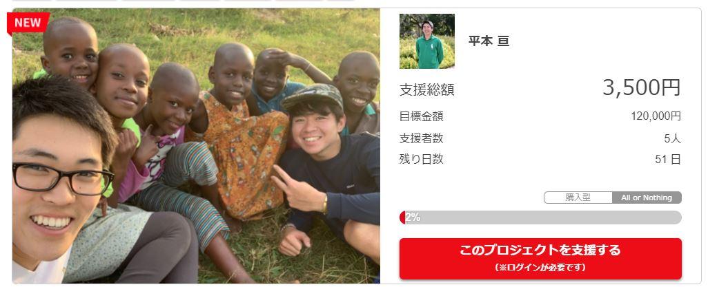 ウガンダで生活する孤児に医薬品を届けたい!【クラウドファンディング】