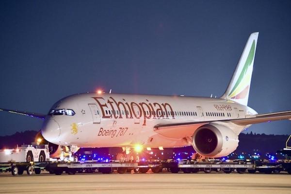 エチオピア航空、80路線以上の国際線の運航を停止