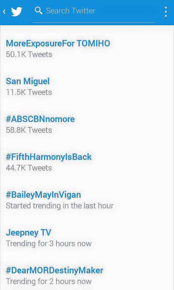 [LOOK] Hashtag #ABS-CBNnomore by Iglesia Ni Cristo Members Now Trending on Twitter