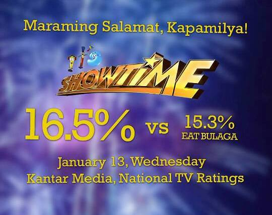 it's showtime vs eat bulaga1