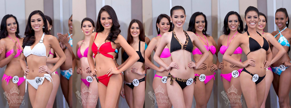 Alexandra Faith Garcia, Maria Lina Prongoso, Paula Rich Bartolome and Maria Gigante. Photos from Bb. Pilipinas
