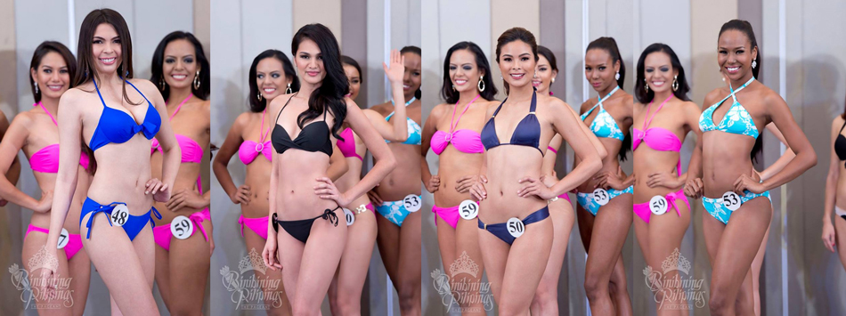 Priscilla Kim Dela Cruz, Kim Ross delos Santos, Maxine Medina and Apriel Smith. Photos from Bb. Pilipinas