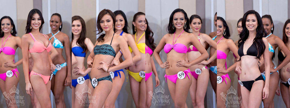 Dindi Pajares, Kylie Verzosa, Mariella Castillo and Jeslyn Santos. Photos from Bb. Pilipinas