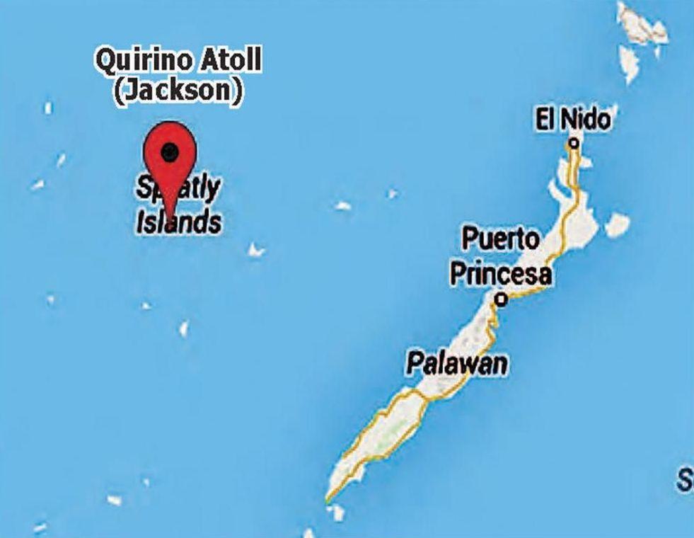 China takes Phl atoll