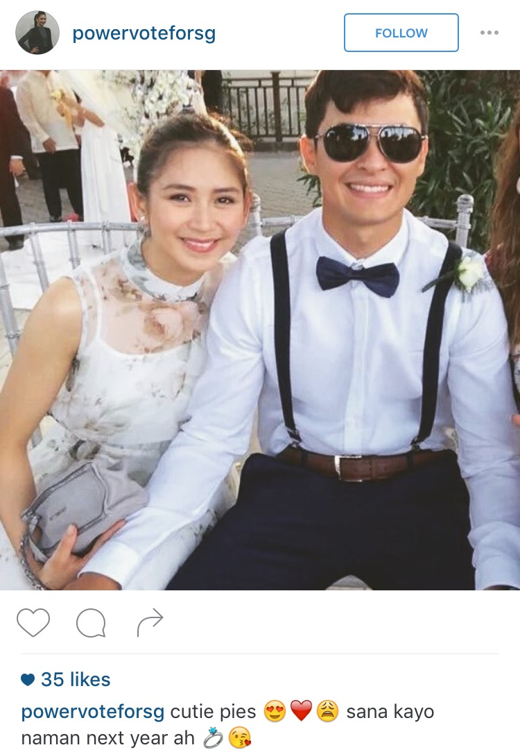 Sarah Geronimo and Matteo Guidicelli Together in Wedding2