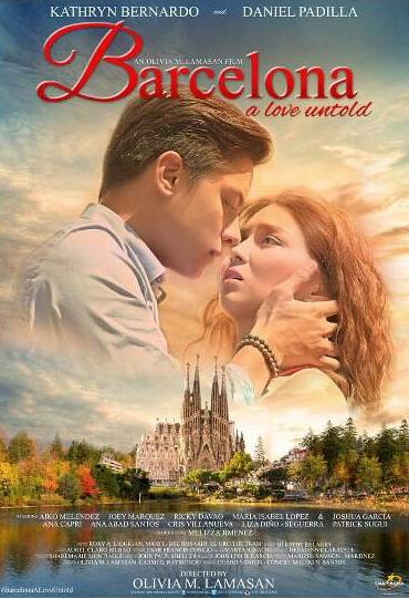 Barcelona, A Love Untold Official Movie Poster