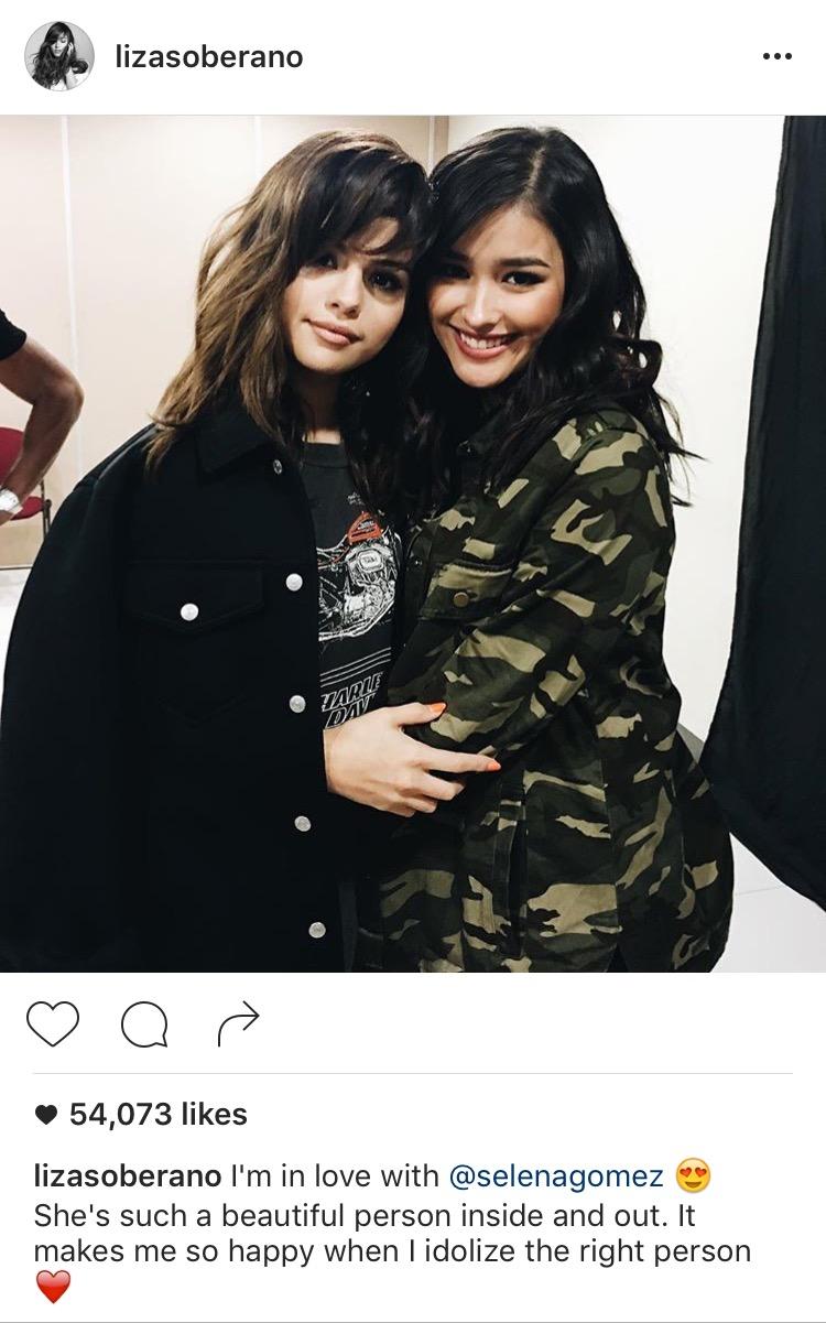 Photo from Instagram: lizasoberano