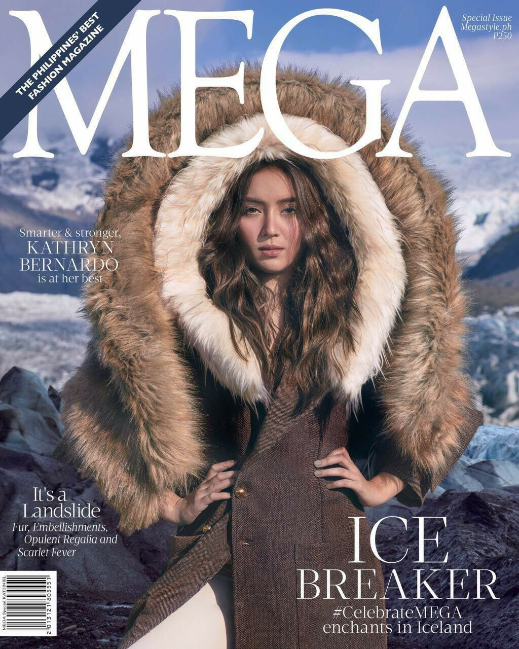 Kathryn Bernardo on the Covers of Mega