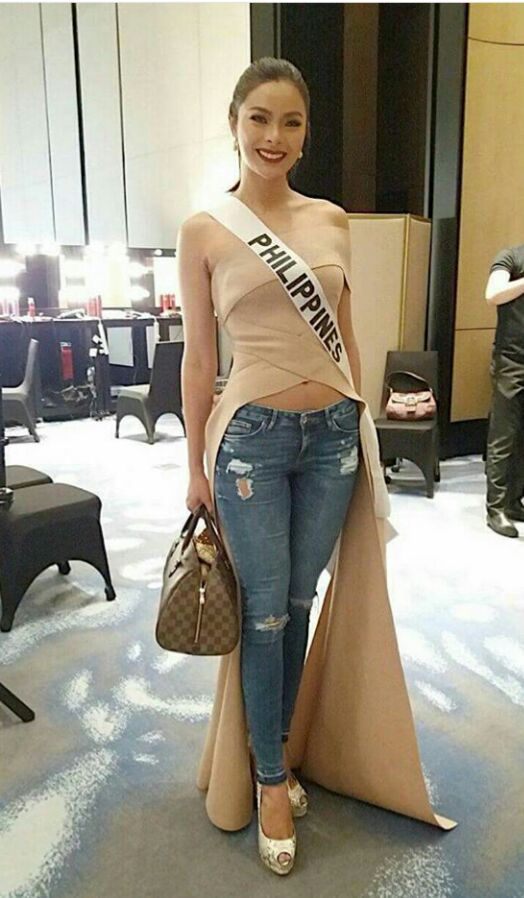 Maxine Medina OOTD miss UNiverse 2016