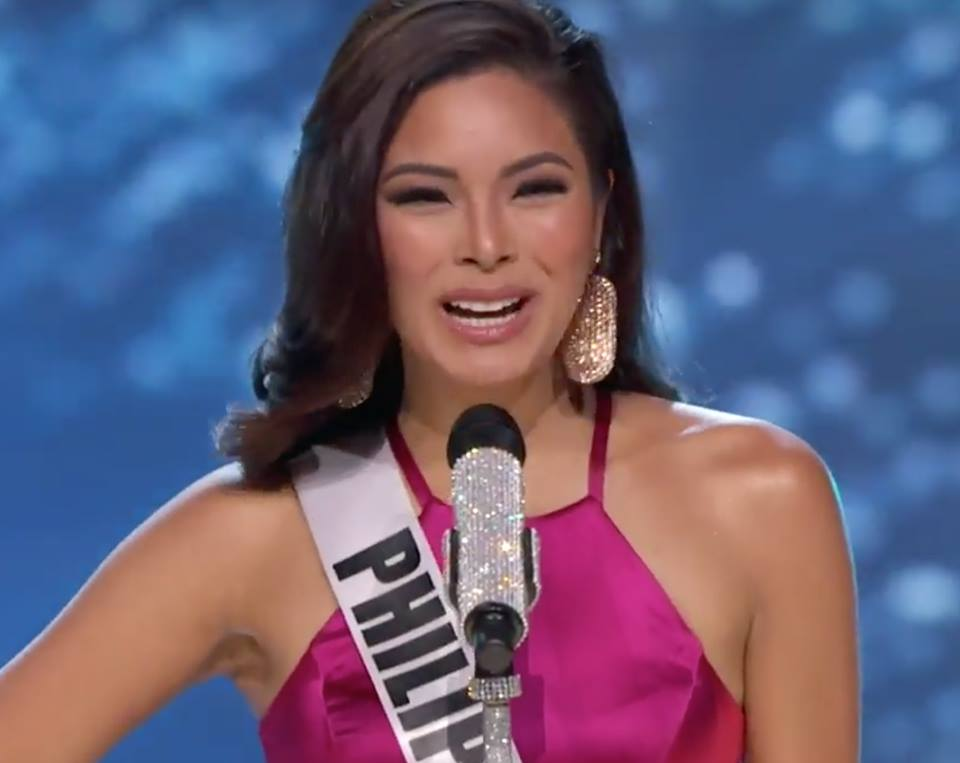 Maxine Medina Preliminary competition introduction