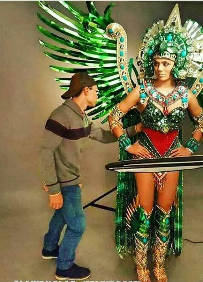Miss Universe Guatemala 2016 National Costume for Miss Universe 2016