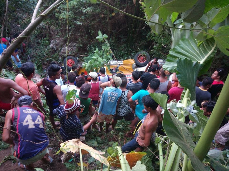 Matnog, Sorsogon vehicular accident