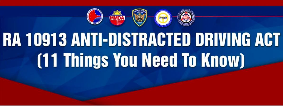 what is ANTI-DISTRACTED DRIVING ACT