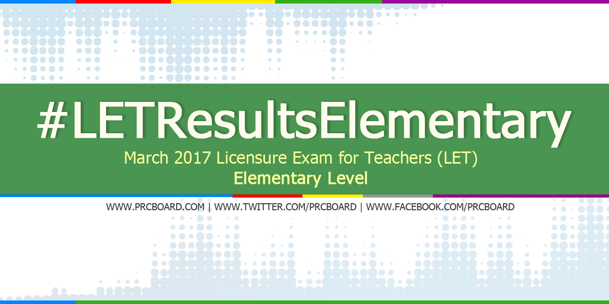 march 2017 let exam results