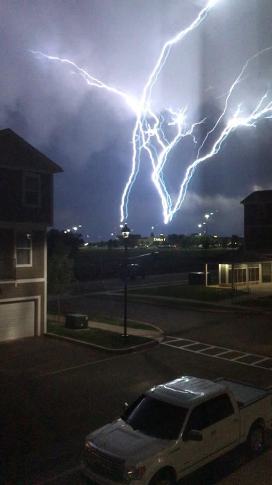 oklahoma lightning
