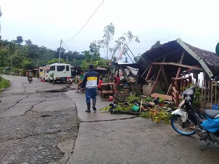 Tungonan Leyte earthquake aftermath