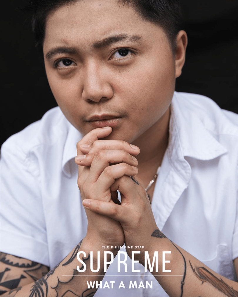 Jake Zyrus on the Cover of Supreme