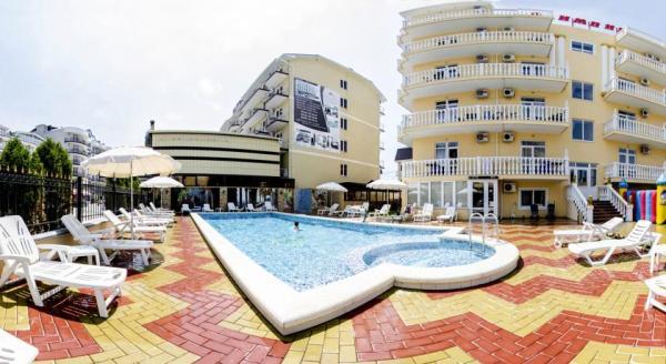 Витязево: мини-гостиница Олимпик, лето 2021
