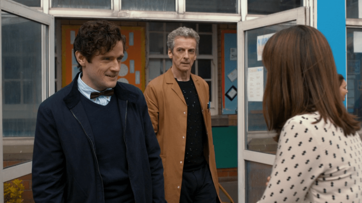 "Doctor Who S8x06 ""The Caretaker"""